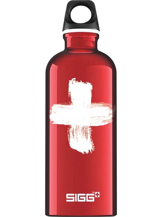SIGG Butelka Swiss 0.6L Red
