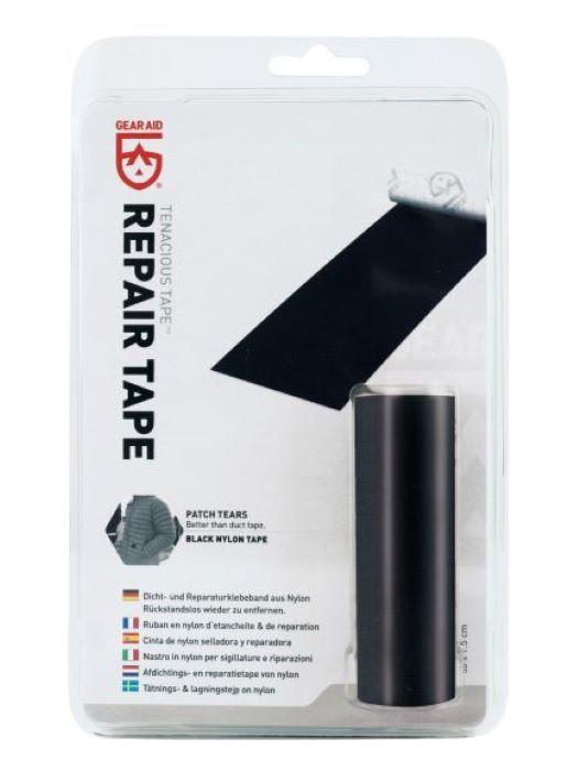 GearAid Repair Tape Black Nylon