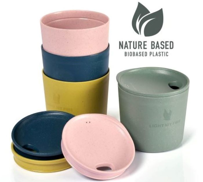 Light My Fire MyCup`n Lid Short 4-pack nature