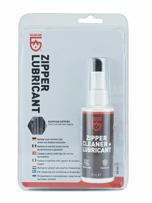 GearAid Zipper Cleaner + Lubricant 60ml