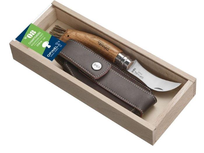 OPINEL Nóż dla grzybiarzy 08 + opakowanie i etui