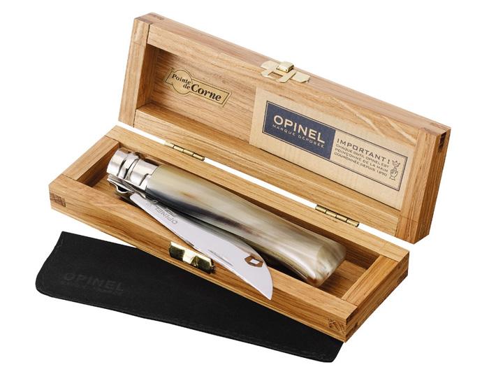 OPINEL Nóż Inox Lux Horn opak. 08