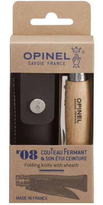 OPINEL Nóż Inox 08 + etui