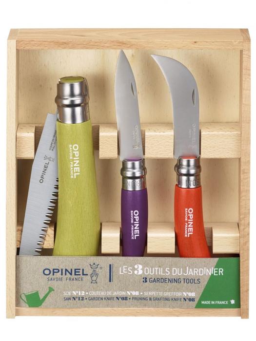 OPINEL Zestaw ogrodniczy 3 narzędzia