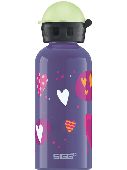 SIGG Butelka 0.4L Glow Heartballons
